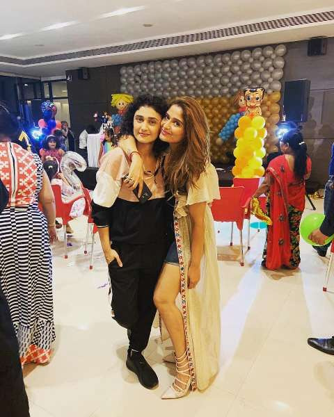 Arti Singh with her cousin Ragini Khanna
