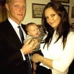 Ben Stokes with Clare Ratcliffe