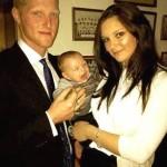 Clare Stokes with Ben Stokes