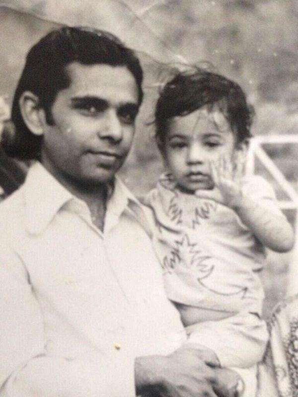 Childhood Picture of Kiku Sharda