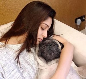 Dipika Kakar loves dogs