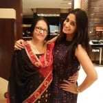 Dipika Kakar with her mother
