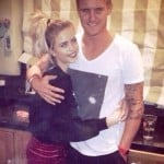Jason Roy with his sister