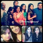 Jigyasa Singh with her family