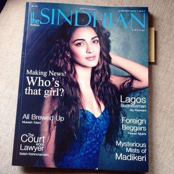 Kiara Advani On The Cover Of The Sindhian Magazine