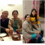 Mansi Shrivastava Parents