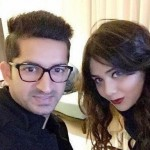 Mohit Sharma with his wife