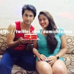 Namish Taneja with his sister