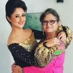 Rashami Desai with her mother