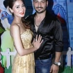 Sara Khan with Rishabh Tandon