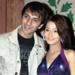 Sara Khan with her Ex-husband Ali Merchant