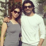Sharad Malhotra with his elder sister Reema Parhwa
