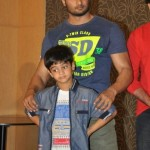 Sudheer Babu with his son Charith Maanas