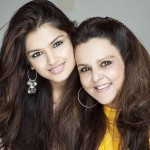Tara Alisha Berry with her mother