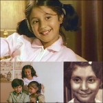 Urmila Matondkar as a child actress