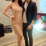 Vin Rana with his wife Nita Sofiana