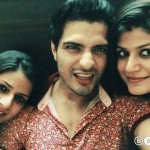 Vin Rana with his sisters