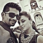 Vishal Singh with Jeena Gupta