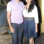 Akshay Oberoi  with his wife Jyothi Vynatheya