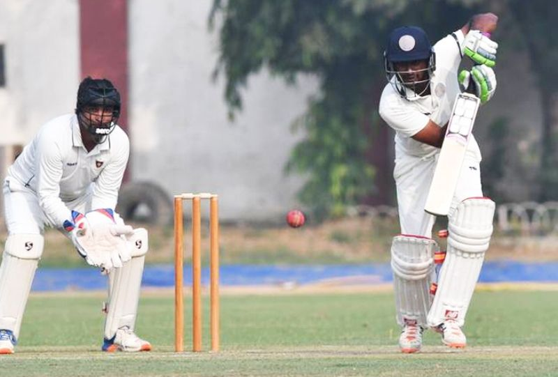 Ambati Rayudu Batting In A Ranji Match