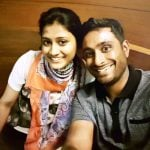Ambati Rayudu With His Wife