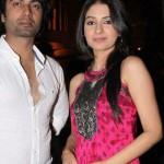 Avantika Hundal with Arhaan Behl