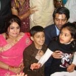 Barun Sobti with his elder sister Richa and niece