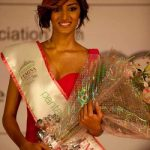 "Erica Fernandes after winning the title of ""Miss Maharashtra 2011"""