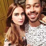Hardik Pandya with Lisha Sharma