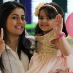 Iqbal Khan's wife, Sneha and daughter, Ammaara