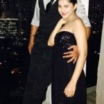 Jennifer Winget with her brother, Moses