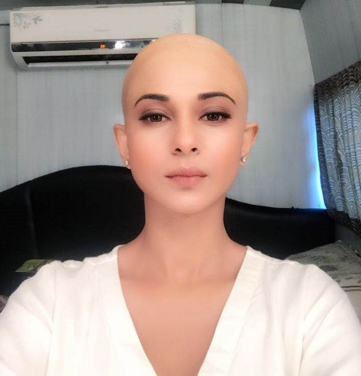 Jennifer Winget's bald look in Beyhadh