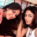 Kavita Kaushik with Sakshi Tanwar
