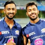 Krunal Pandya with his brother Hardik Pandya
