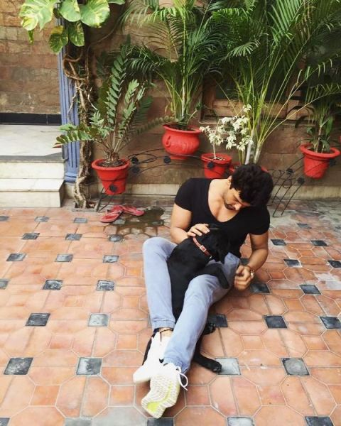 Kushal Tandon loves dogs