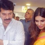 Mammootty with his daughter