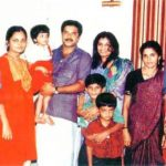 Mammootty with his family
