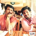 Mammootty with his son
