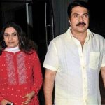 Mammootty with his wife