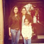 Mona Singh with her elder sister Sona Singh and her niece, RIa