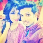Mudassar Khan with his sister, Farheen Khan