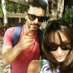 Nora Fatehi with Angad Bedi