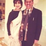 Pallavi Sharda with her father