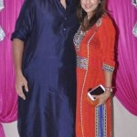Rajneesh Duggal with his wife Pallavi Duggal