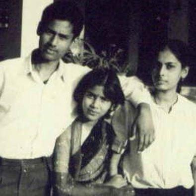 Sakshi Tanwar's childhood picture