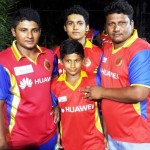 Sarfaraz Khan with his family