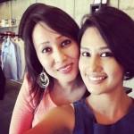 Sasha Chettri with her sister