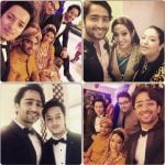 Shaheer Sheikh with his younger sister (the bride)