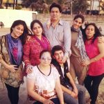 Soumya Seth with her family