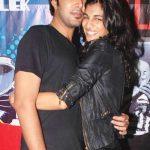Anushka Manchanda with Gaurav Arya